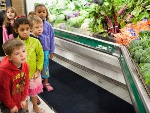 CDC children learn the three R's on Earth Day